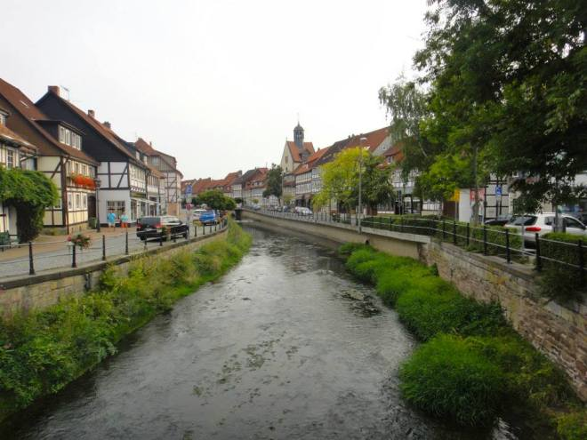 The lovely main street of Bad Salzedetfurth