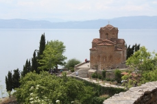 View of the church...