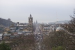 The view back down Princes Street!
