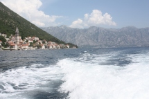 Boating along...