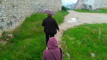 Emil and his umbrella!