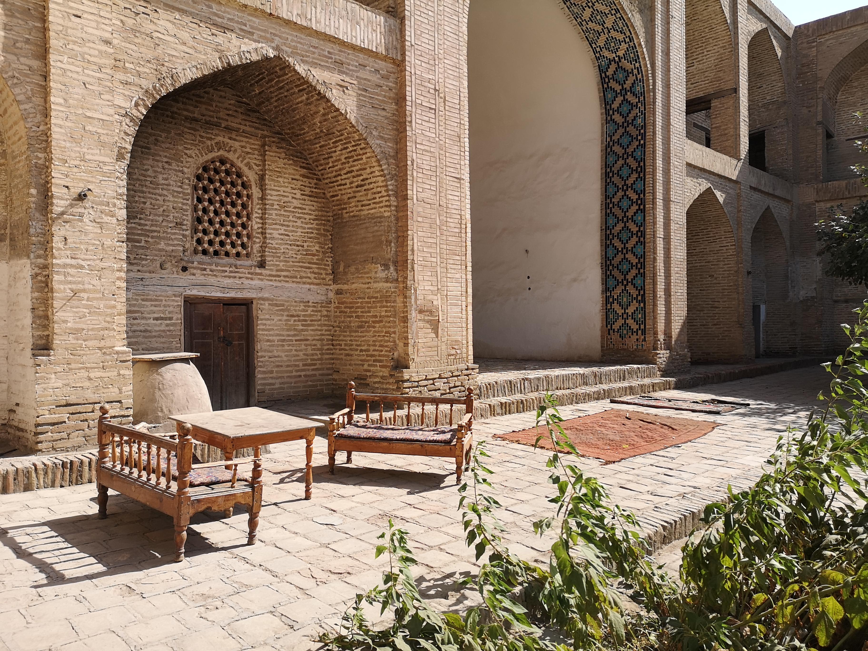 Bukhara Courtyard