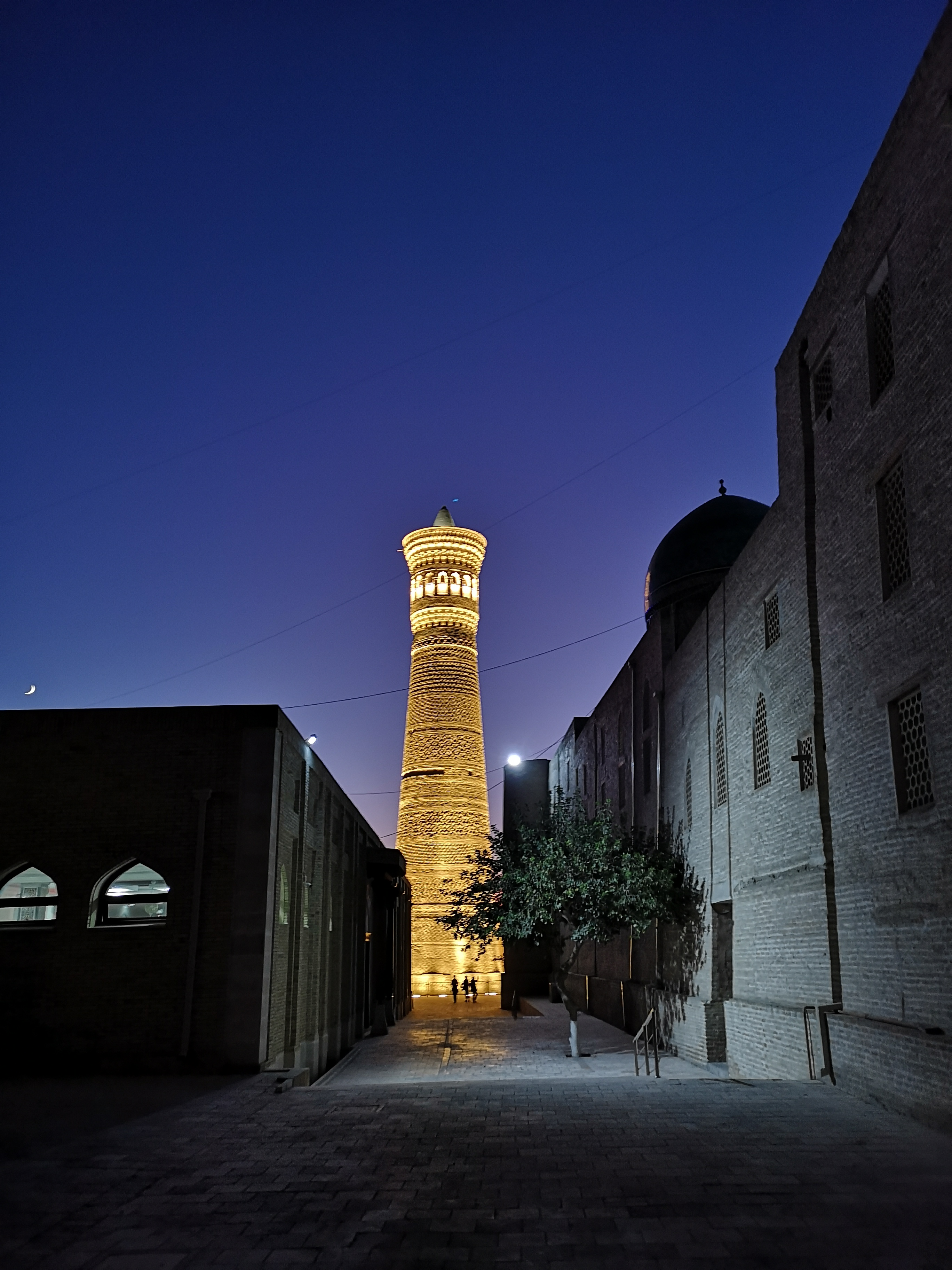 Kalyan Minaret sundown