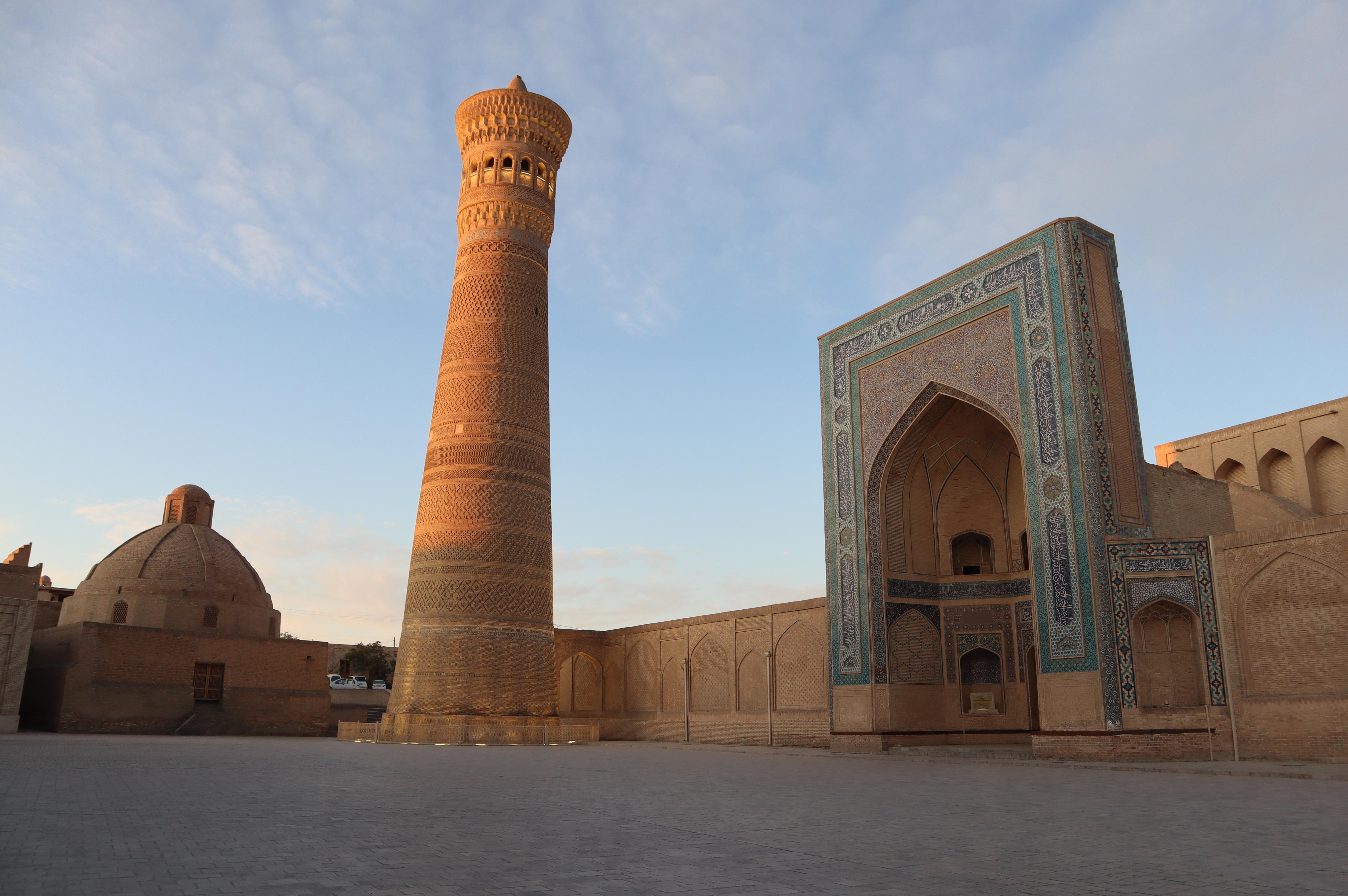 Kalyan Minaret at Sunrise