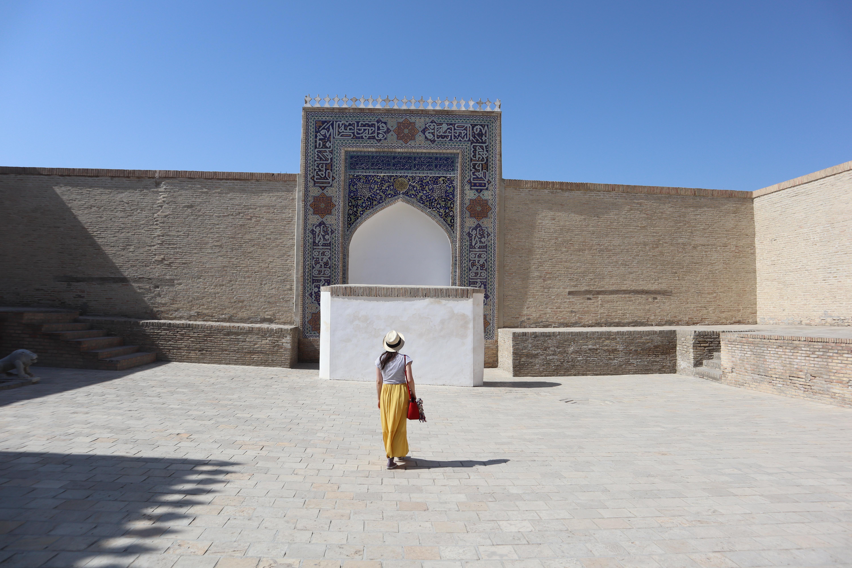 Royal Courtyard Bukhara